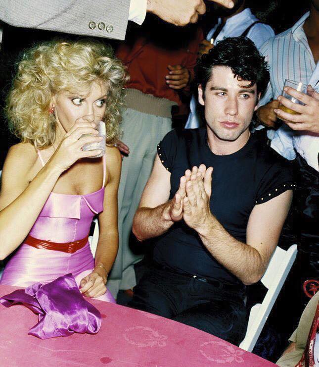 Olivia Newton John and John Travolta, 1978