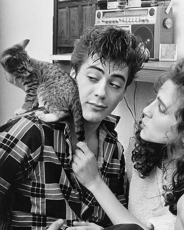 Robert Downey Jr. and Sarah Jessica Parker in 1983