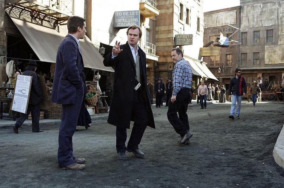 Christopher Nolan directs Christian Bale in