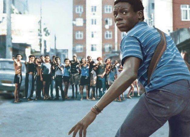 "Classic scene from the movie ""City of God"" (2002)"
