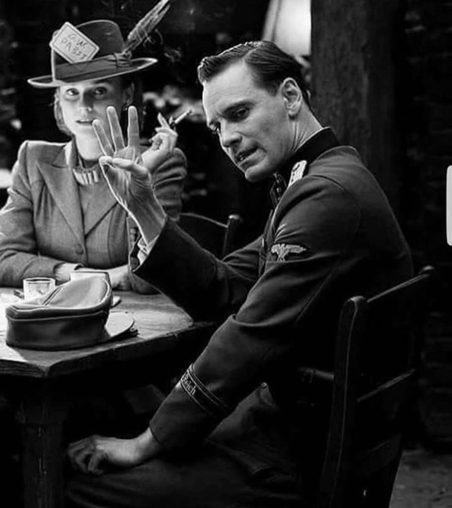 That's the moment shit hit the fan in 'Inglourious Basterds' (2009). Diane Kruger and Michael Fassbender