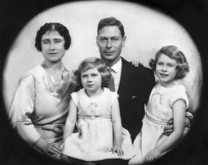 Image of King George VI and family