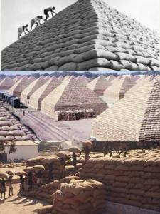 Image of Groundnut Pyramids