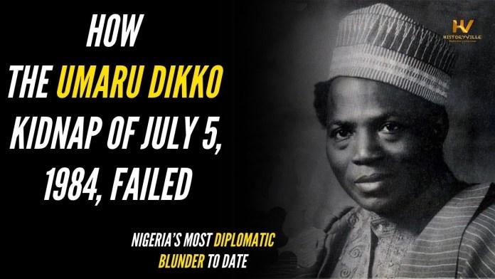 Umaru Dikko Kidnap