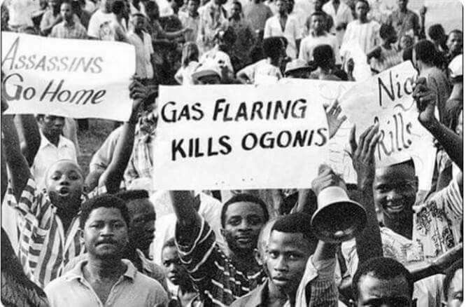 The Ogoni people of the Niger Delta