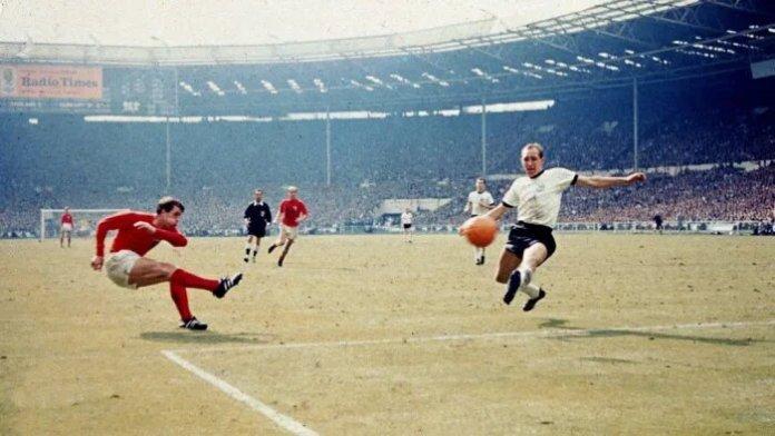 Geoff Hurst 1966 FIFA World Cup