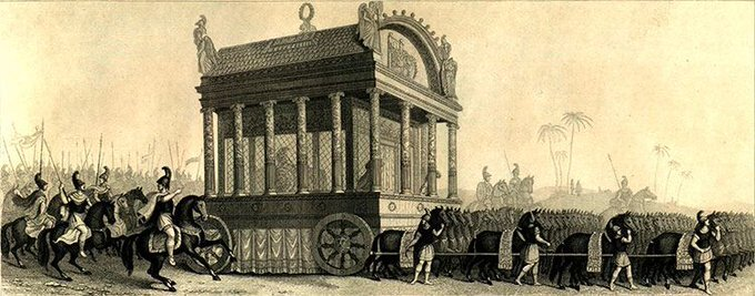 Alexander the Great funeral