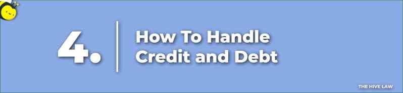How To Handle Credit and Debt - Prenuptial Agreement Checklist