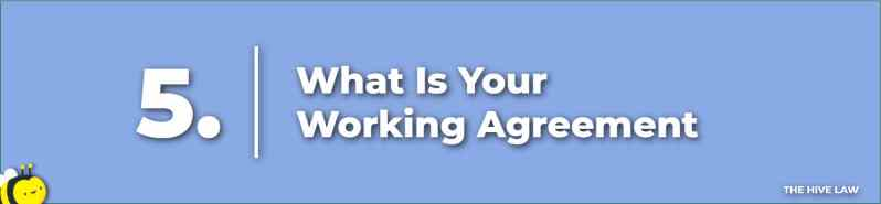 What Is Your Working Agreement - Prenuptial Agreement Checklist