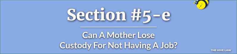 Can A Mother Lose Custody For Not Having A Job - Mother Using Child Against Father - Mother Wont Let Father See Child
