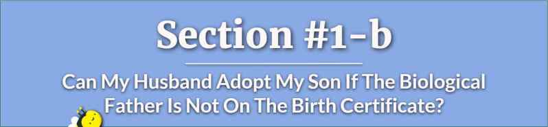 Can My Husband Adopt My Son If The Biological Father Is Not On The Birth Certificate - Step Parent Adoption in Georgia