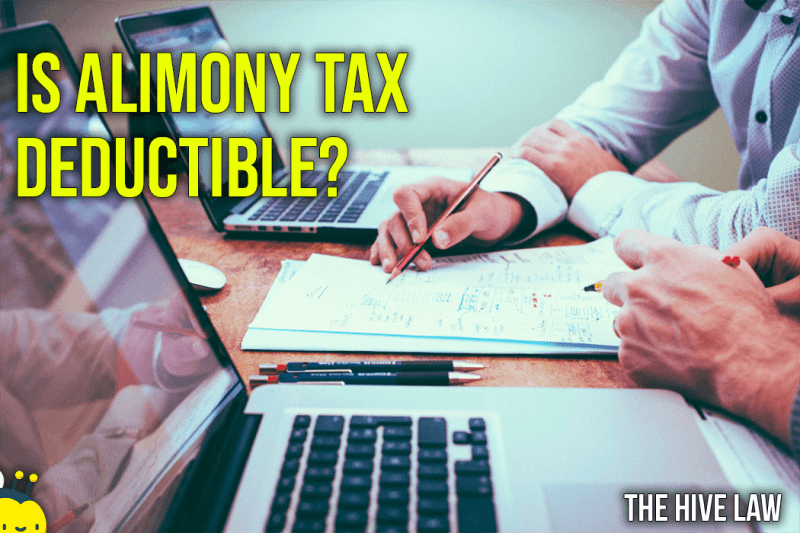 Is Alimony Tax Deductible