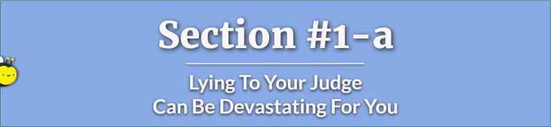 Lying To The Judge - How to Lose Custody Battle - How to Get Full Custody - Child Custody Lawyers
