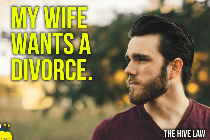 My Wife Wants A Divorce