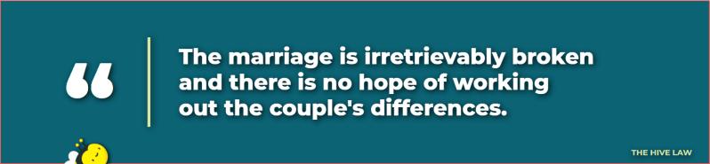 define irreconcilable - irreconcilable definition - irreconcilable meaning - irreconcilable differences