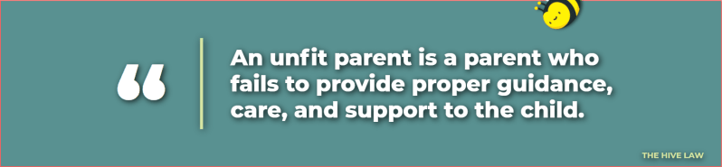 what is an unfit mother - how to get custody of a child from an unfit mother - how to prove a mother unfit - unfit mother examples