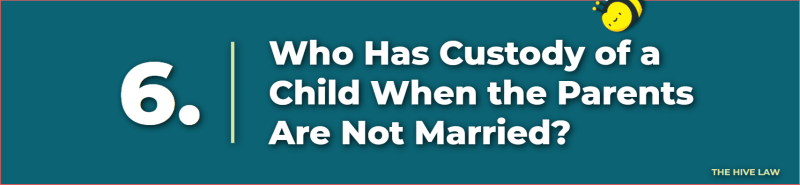 who has custody of a child when the parents are not married - can a mother keep the child away from the father