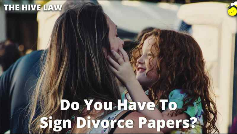 Do You Have To Sign Divorce Papers - Husband Filed For Divorce But I Dont Want One - Husband Wont Sign Divorce Papers