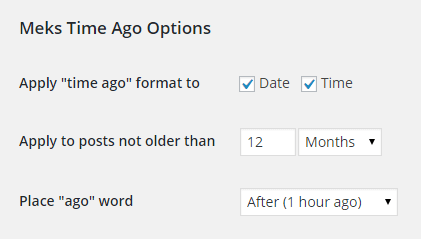 Display Relative Dates in WordPress