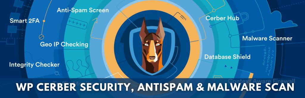 WP cerber security, Antispam & Malware scan Best Security Plugin for WordPress