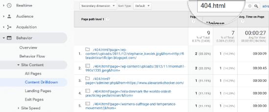 search - How to Fix Broken Links in WordPress
