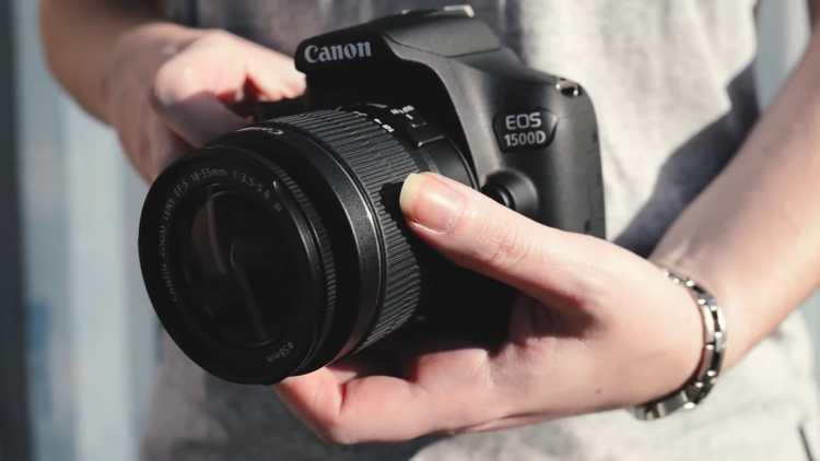 Canon eos 1500d design