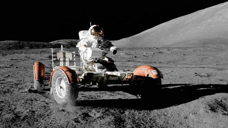 The moon vehicle