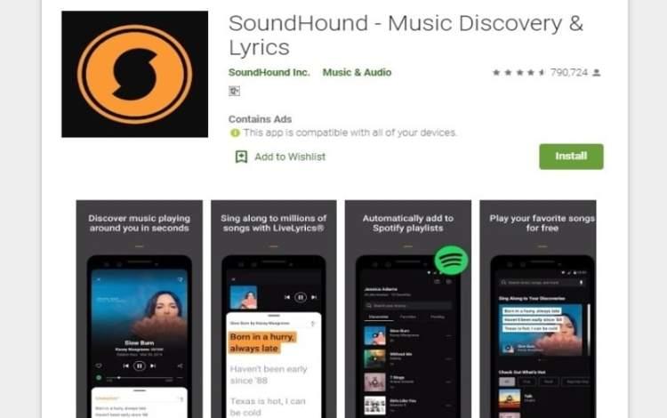Sound hound app