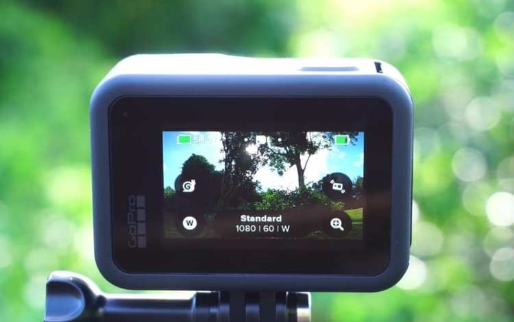 Gopro Hero8 recording video