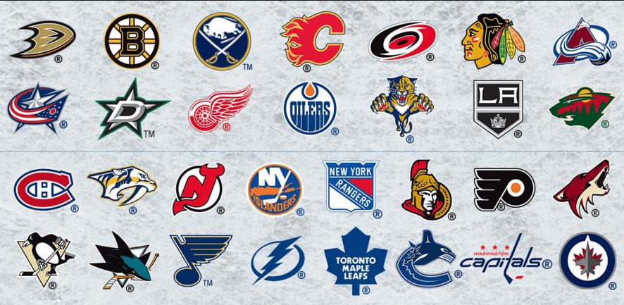 Image result for nhl team logos 2016