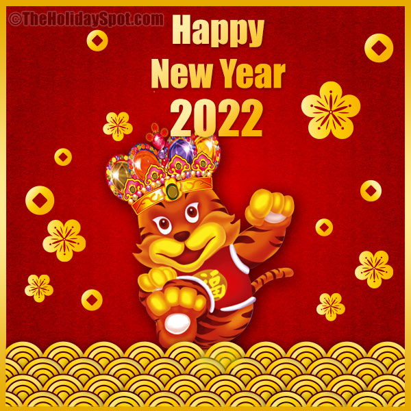 Kết quả hình ảnh cho a happy new year card 0f 2018, year of the dog