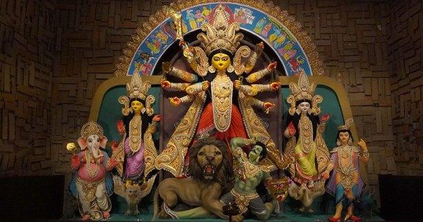 Image result for Happy Durga Puja Bengali 2018