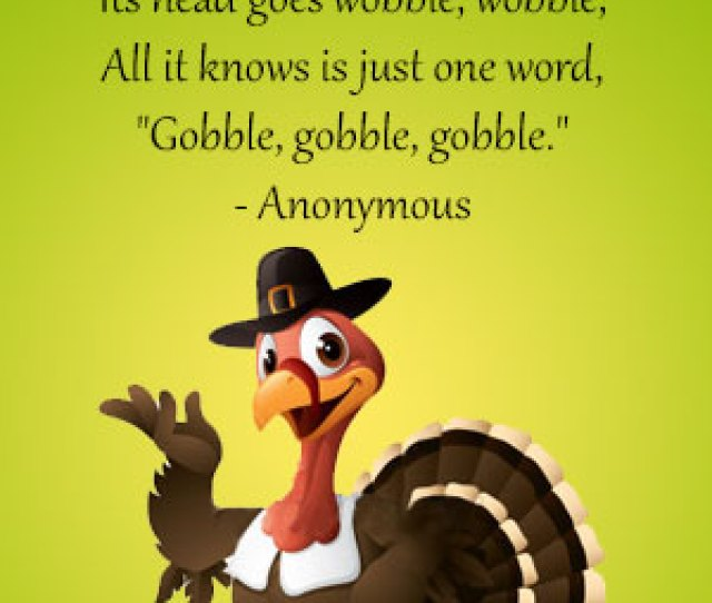 Poem Card Turkey The Funny Bird