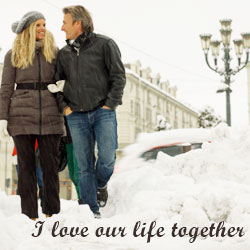 I love our life together