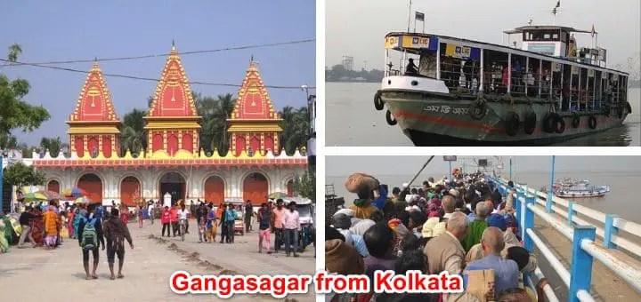 Gangasagar from Kolkata