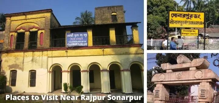 Top 12 visiting place in Rajpur Sonarpur railway Station road Kolkata