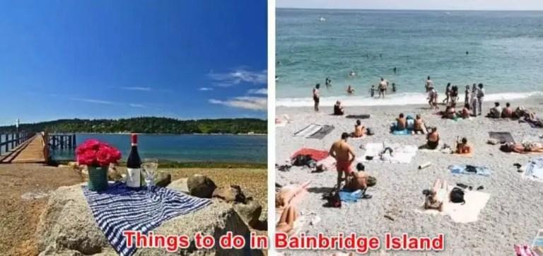What 17 Things to do in Bainbridge Island Seattle Washington