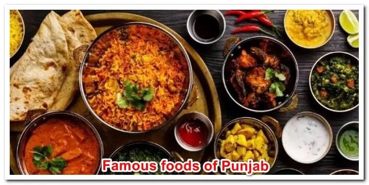 Famous foods of Punjab
