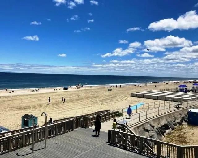 Sea Bright beach New Jersey united states