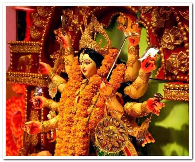 North Bombay Rani Mukherjee's Durga puja