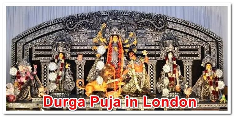 17 Best Durga Puja in London UK 2021