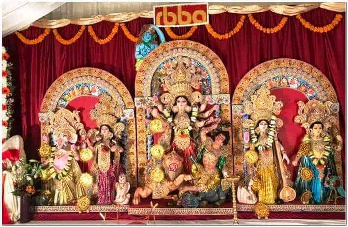 RBBA Royal Berkshire Bengali Association Slough Durga puja