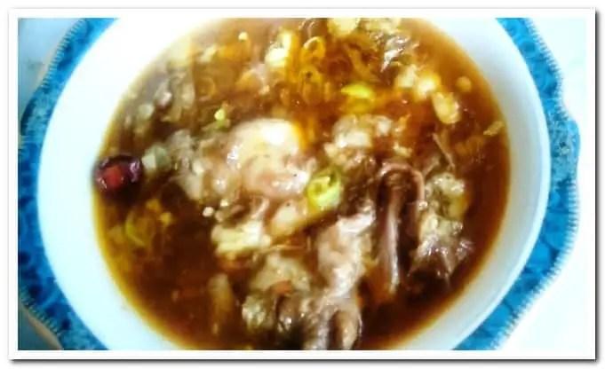 Beef Paya curry