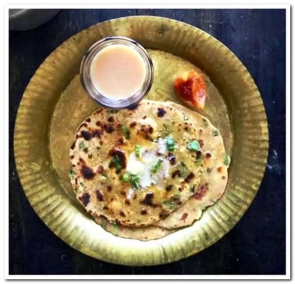 paneer stuffed paratha