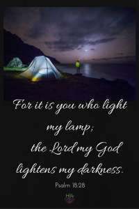 For it is You Who Light My Lamp