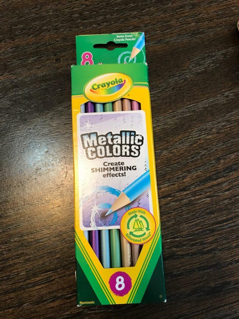 Crayola Metallic Colors Colored Pencils