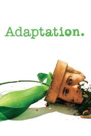 """Poster for the movie """"Adaptation."""""""