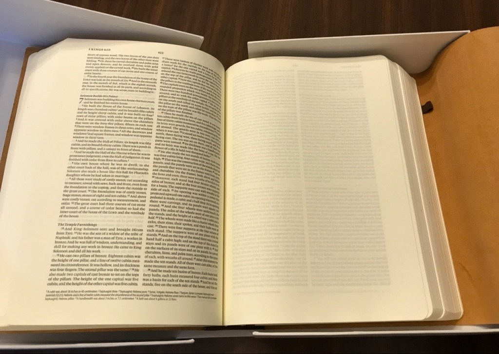 ESV Journaling Bible Interleaved