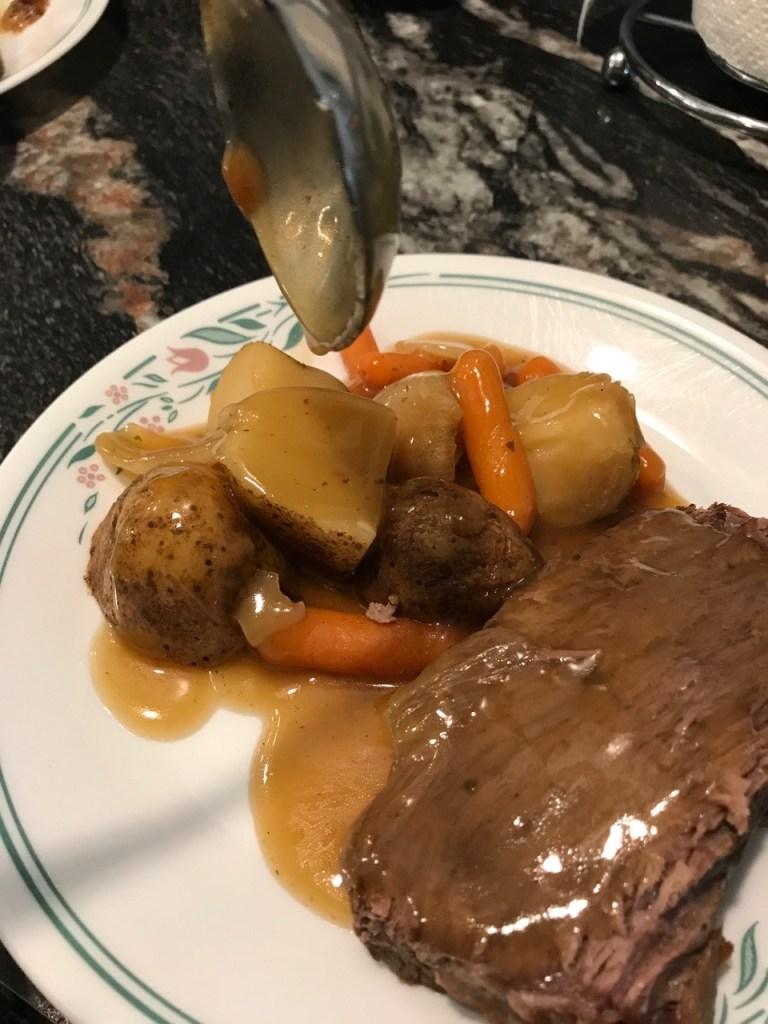 Gravy for IP pot roast