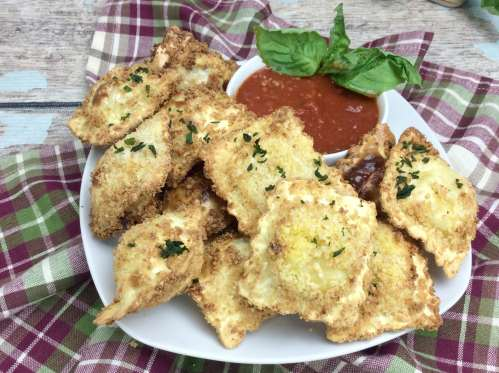 Air Fryer Baked Ravioli